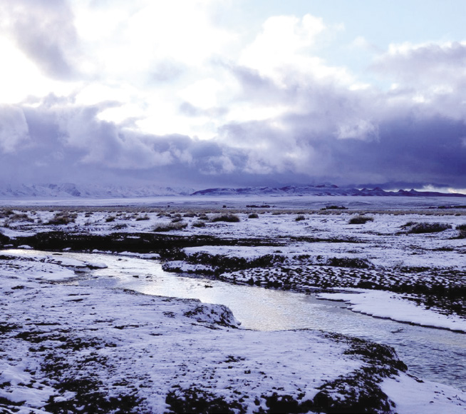 ช่วงต้นเดือนตุลาคม มองโกเลียก็เริ่มมีหิมะตกอากาศบางคืนลงไปถึง -10 องศา หนาวมาก