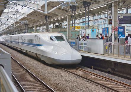 ภาพตัวอย่าง โครงการความร่วมมือด้านรถไฟความเร็วสูงไทย-จีน (Shinkansen ประเทศญี่ปุ่น) (1)